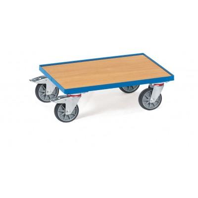 Eurokasten-Roller mit Boden aus Holzwerkstoffplatte