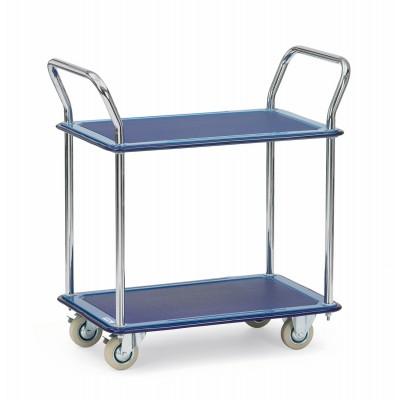 Tischwagen - Traglast 120 kg Etagenanzahl | 2 Stück