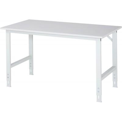 Arbeitstisch mit Melamin-Platte - verstellbar 760-1080 mm