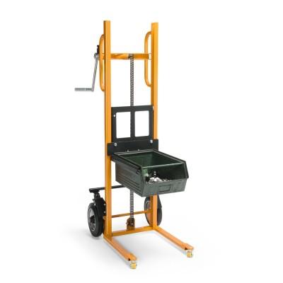 Hubkarre Traglast bis 150 kg Ausführung | mit Gabelaufnahme