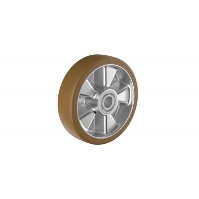 Polyurethan-Räder, kugelgelagert Ausführung | Einzelrad