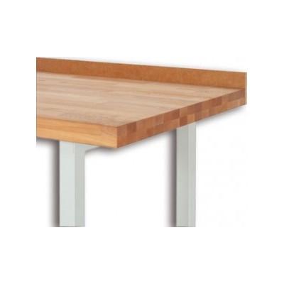 Arbeitsplattenabschluss für freistehende Tische