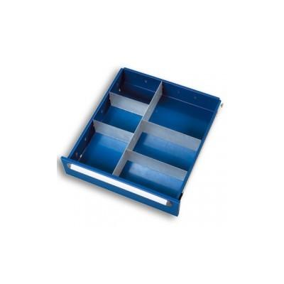 Schubladen-Einteilungsset für Fachhöhe 60 und 90 mm