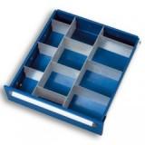 Schubladen-Einteilungsset für Fachhöhe 60 und 90