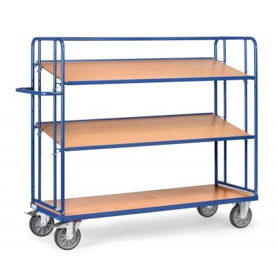 Etagenwagen mit verstellbaren Böden