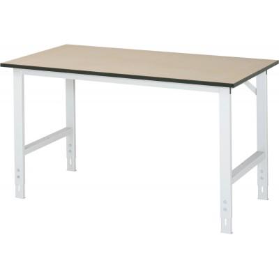 Arbeitstisch mit MDF-Platte - verstellbar 760-1080 mm