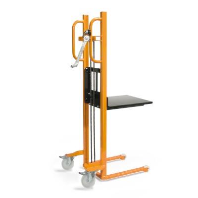 Materialheber Traglast bis 250 kg Traglast   mit Plattform