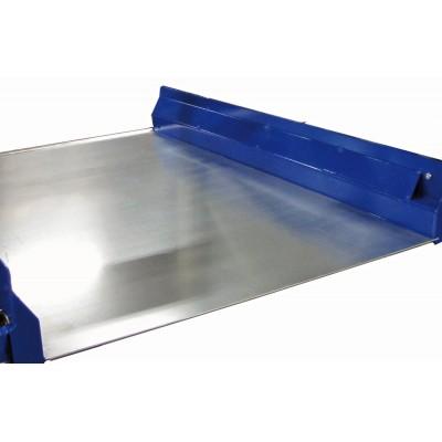 Auflagen für Palettenauszüge | Stahlbodenauflage