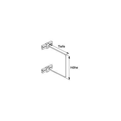 Trennbügel für Multipal Profillagerregal Stecksystem