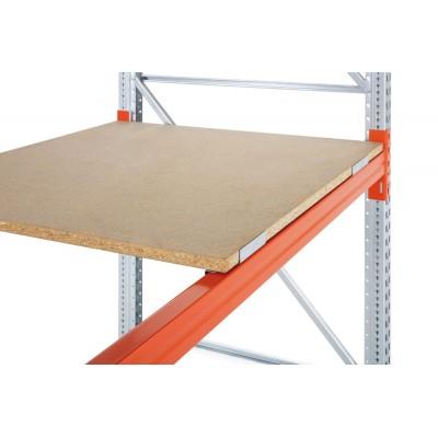 Spanplattenboden 38 mm komplett mit Zentrierblech - ohne Holme