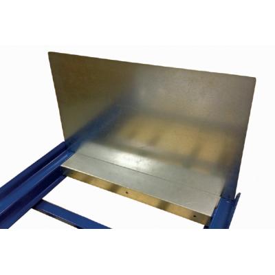 Fallschutzplatte für Palettenauszüge