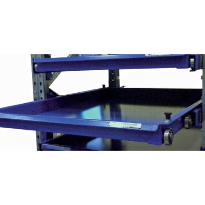 Rahmen - Schubfach mit umlaufender Kante - beidseitiger Auszug