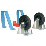 Beschlagteile-Komplettsatz für Rollplatte