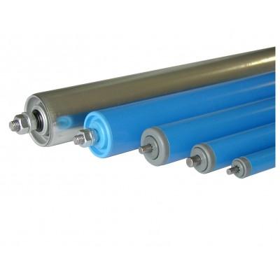 Stahl-Tragrollen mit Gewinde-Achse (Außengewinde)