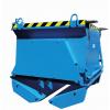 Bodenklappenbehälter für Stapler oder Kranbetrieb