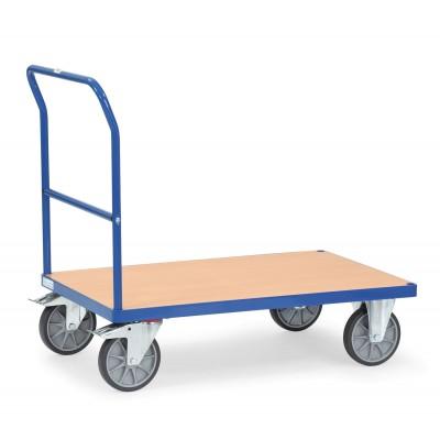 Schiebebügelwagen blau