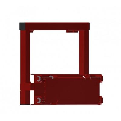 Adapter - Staplerschild für Wabenregal ausziehbar