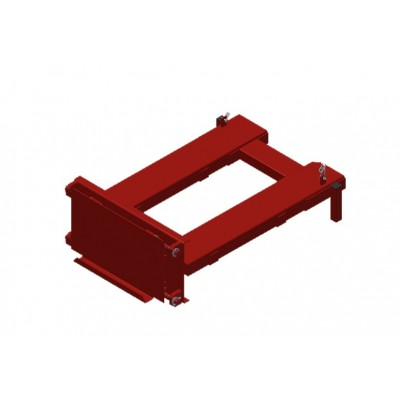 Adapter - Gabelstapler für Wabenregal ausziehbar
