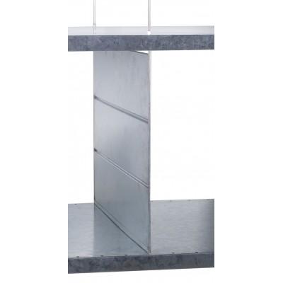 Trennbleche für Stahlblechregal