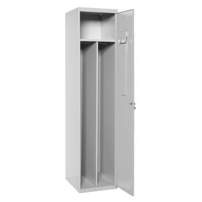 Spind, Kleiderschrank geteilt - 1-Tür