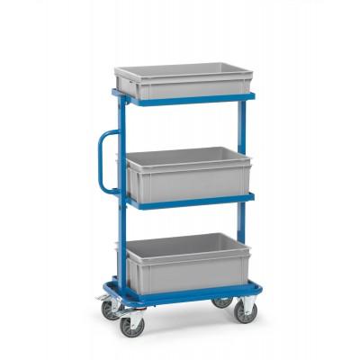 Beistellwagen Ausführung | mit 3 Kunststoffkästen