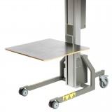 Plattform Holz - 600 x 600 mm | Impact 80, 90, 130