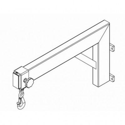 Kranarm Edelstahl - 280-600 mm - für Inox 200