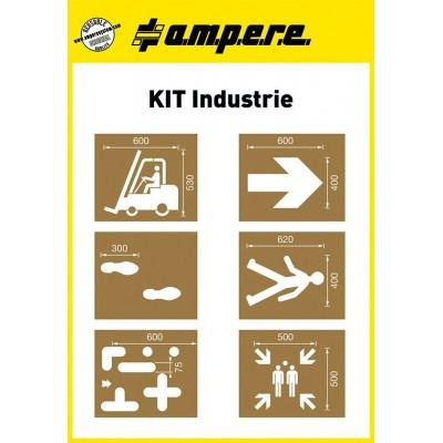 Schablonen Kit Industrie