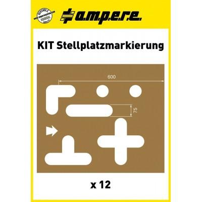 Schablonen Kit Stellplatzmarkierung