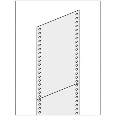 Seitenwand Vollblech - für Fachbodenregal Stecksystem