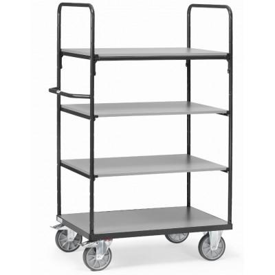 Etagenwagen mit Einlegeböden - grau