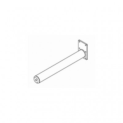Dorn, lackierter Stahl - 800 mm Ø 60