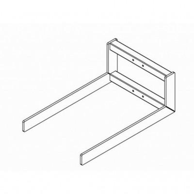 Gabel verzinkter Stahl - 585 x 375 mm