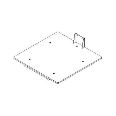 Plattform PEHD - 495 x 495 mm -  für Inox 90 und Impox 70
