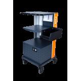 Lagerbox für mobilen Arbeitsplatz