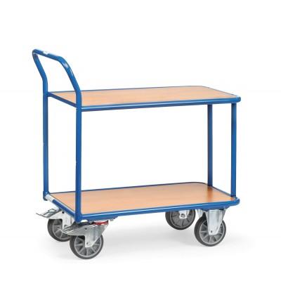 Tischwagen - Traglast 400 kg Ausführung | Mit 2 Ladeflächen