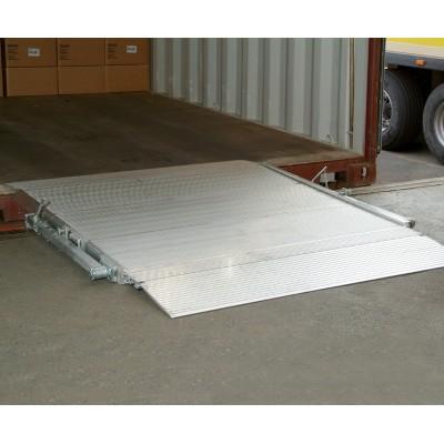 Mobile Überladebrücke Typ HF aus Aluminium
