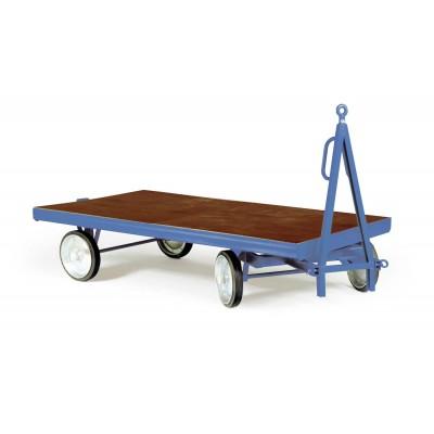 Industrie - Anhänger mit Einfach-Drehschemel-Lenkung