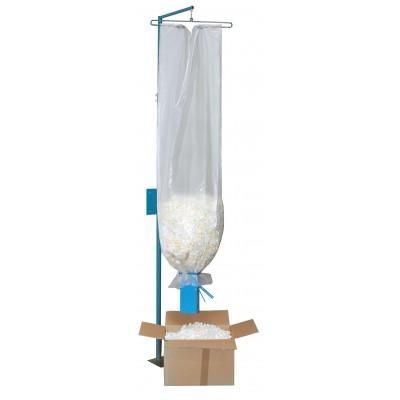 Abfüllvorrichtung stationär mit Dosiertrichter
