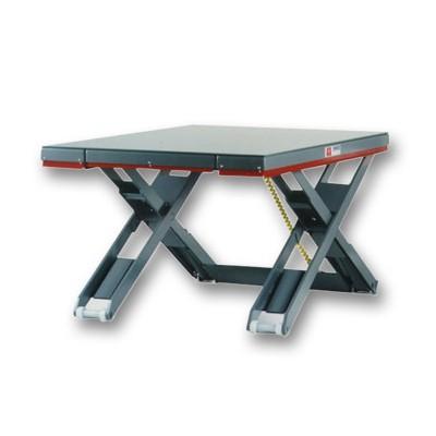 Flachhubtisch flachlift star Ausführung | Geschlossene Plattform