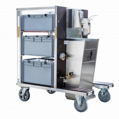 Hygiene-Rollcontainer Typ 2