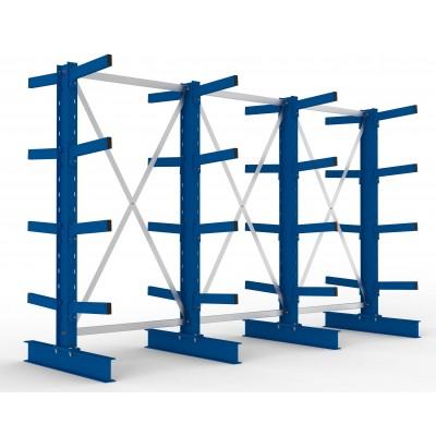 Kragarmgregal Multistrong Typ M, doppelseitige mittelschwere Ausführung