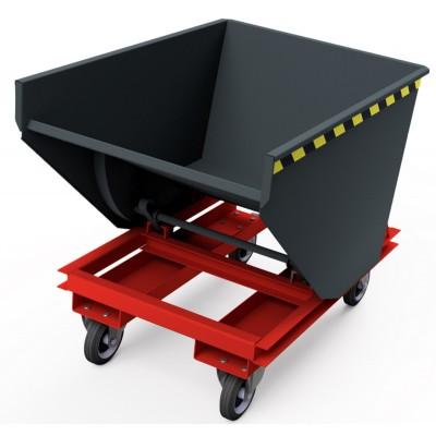 Selbstkipper mit Radsatz, Traglast bis 1.300 kg
