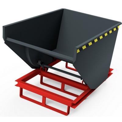 Selbstkipper mit Gabelhubwagen-Aufnahme, Traglast bis 2.500 kg