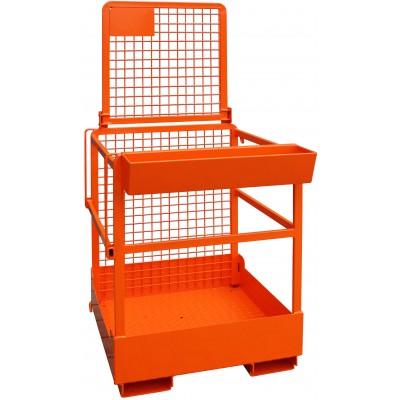 Arbeitskorb für 1 Person - Orange