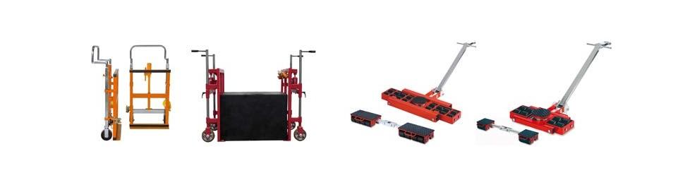 Maschinenheber & Roller