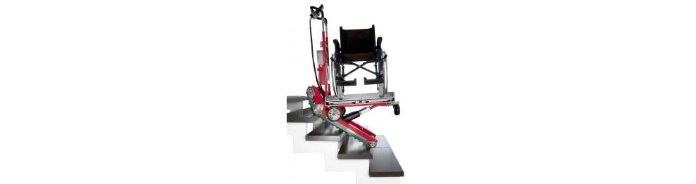 Elektrische Treppensteiger im Sanitätsbereich